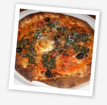 Pizza Fiorentino