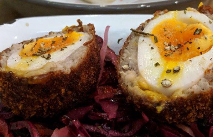 Pigsty: Scotch egg