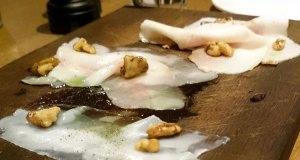 Mangalitza country ham and walnuts