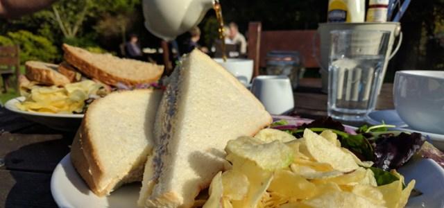 Quarr Abbey Tea Garden