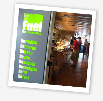 ReFuel, the foodstation