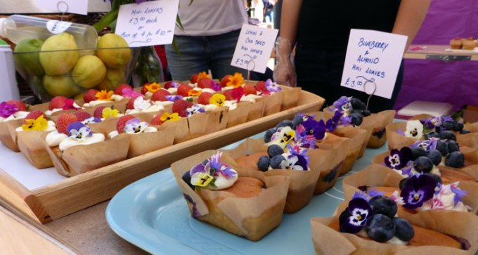 Mini cake loaves by Tea Tray