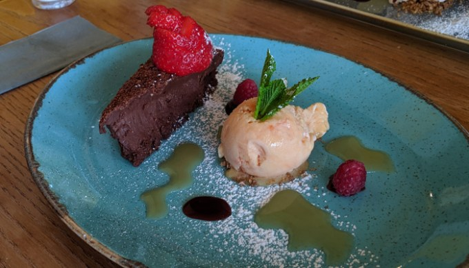 Desserts, the Star Inn