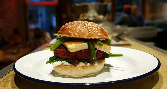 Stripped: special plant burger
