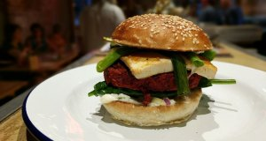 Plant burger special