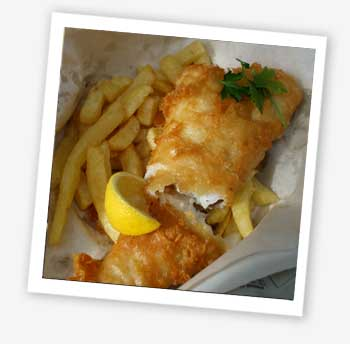 Taste of the Wight, fish and chips