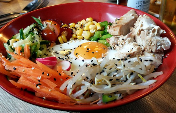 Tuk-Tuck: chicken bibimbap