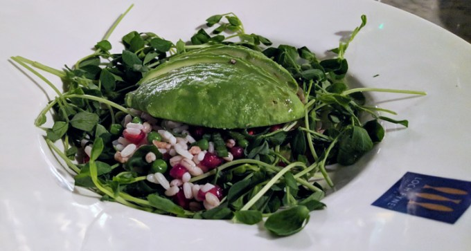 Avocado super food salad at Loch Fyne