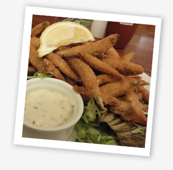 Whitebait, The Vine Inn, St Helens