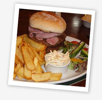 The Vine Burger, the Vine Inn, St Helens