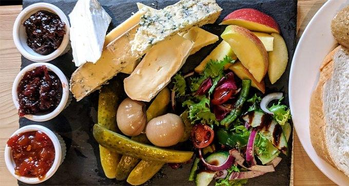 Cheese ploughman's