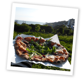Mmm, pizza!