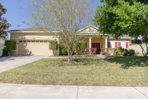 Front of 2806 Imperial Pointe Ter Clermont FL