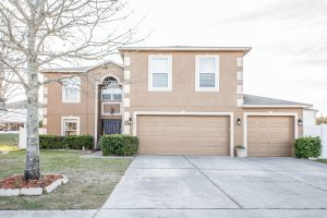 Front of 3236 Park Branch Ct Clermont FL