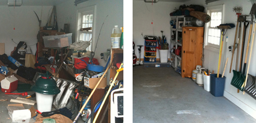 Before & After - Garage
