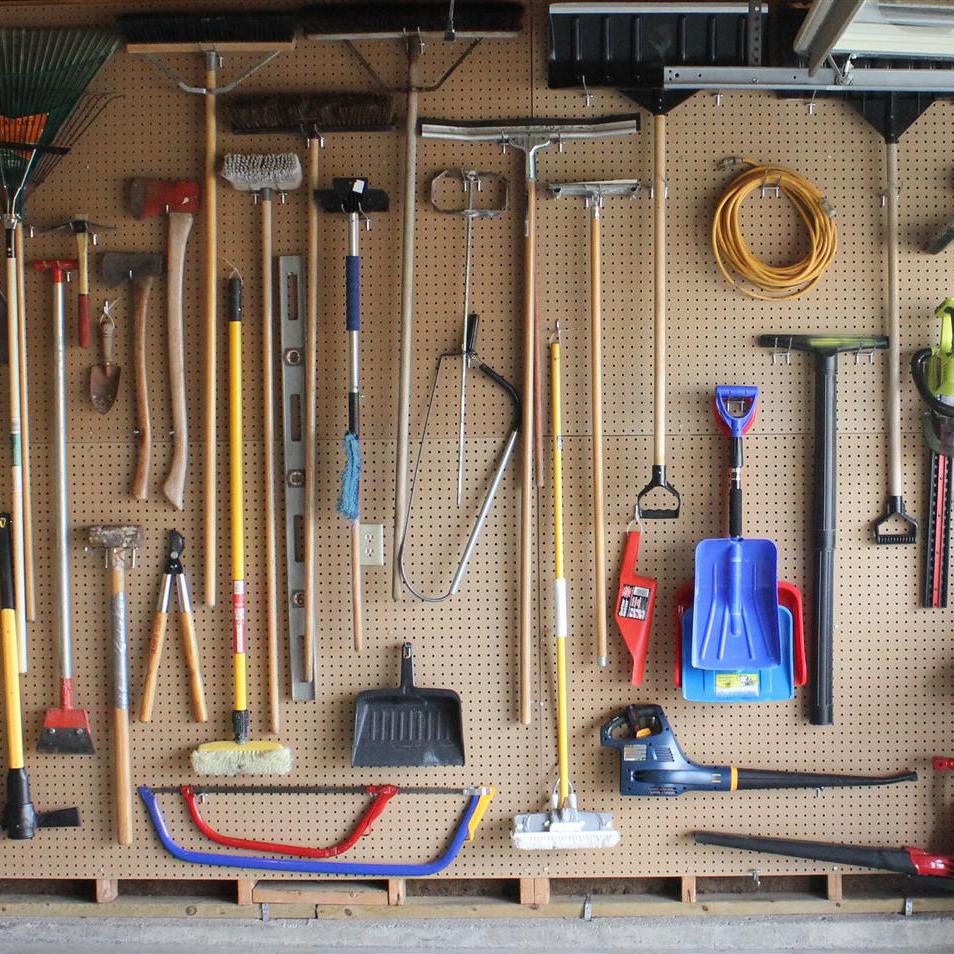 How To Take Charge Of Awkward Garage Storage