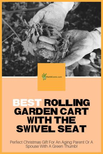 Best Rolling Garden Carts With Swivel Seats Post Graphic