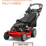Recommended Lawn Mowers For Hilly Yards