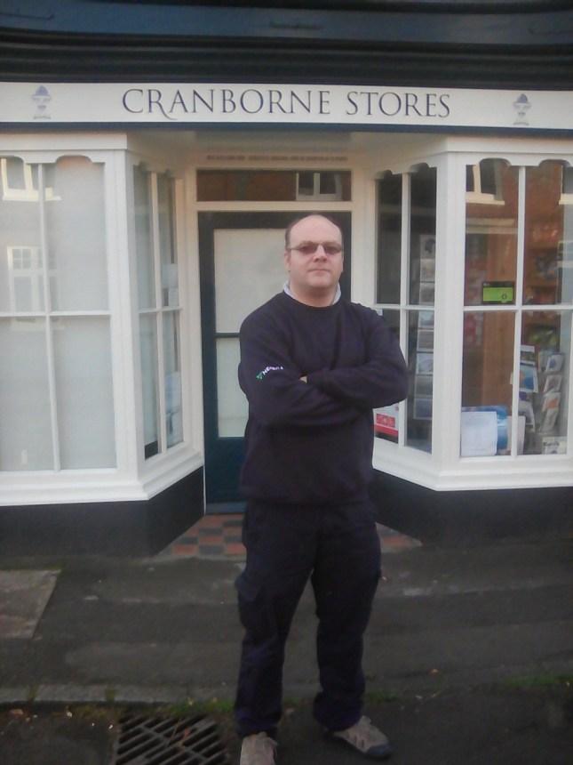 matt-outside-cranborne-stores