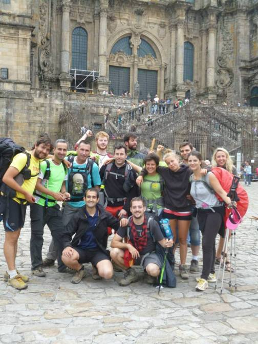Santiago de Compostela. The end and the Beginning