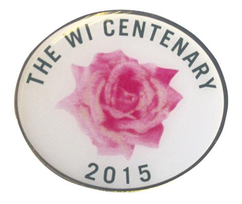 WI Centenary badge