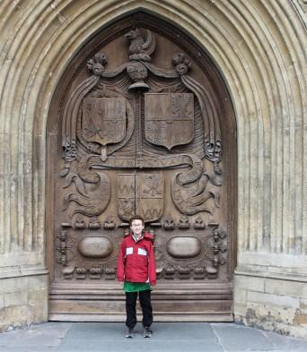 What big doors!
