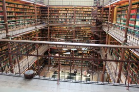 Library at the Rijks Museum