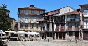 Old town in Guimarães is a UNESCO World Heritage Site.
