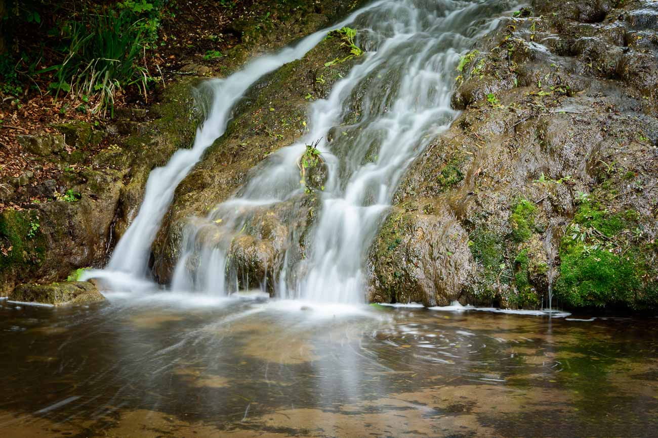 Himley Hall Cascades in The Black Country