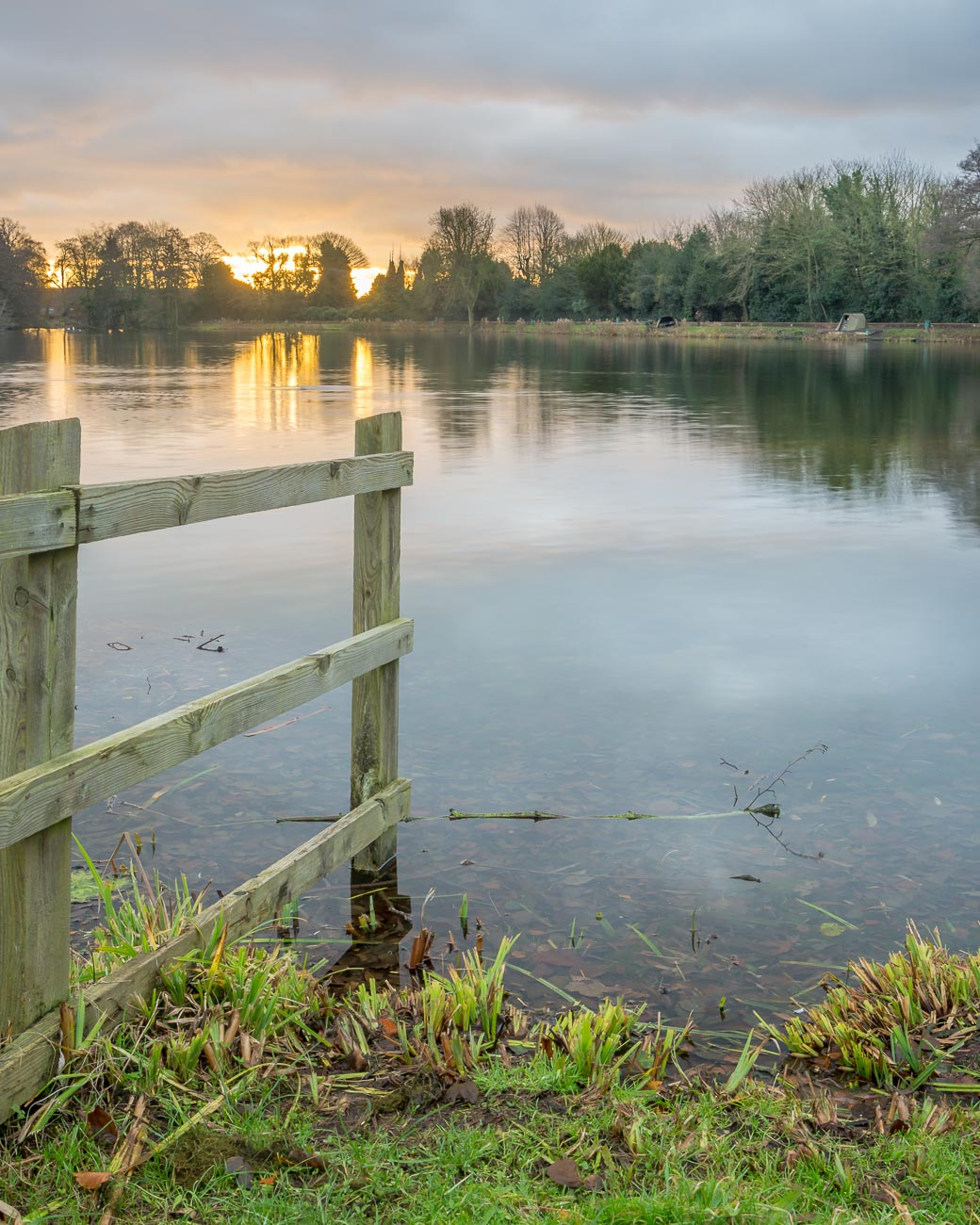 Black Country sunrise at Himley Hall