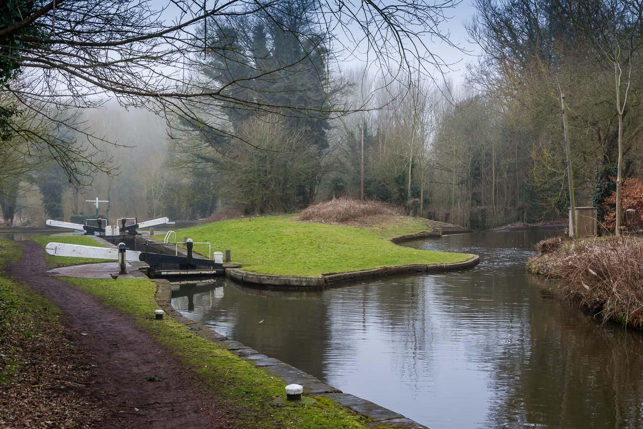Stourton Canal lock