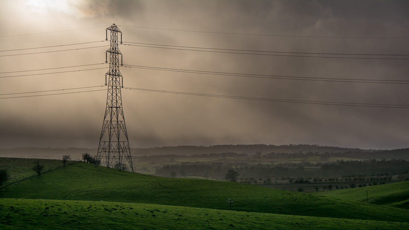 The Power of Stormy Skies over the Black Country