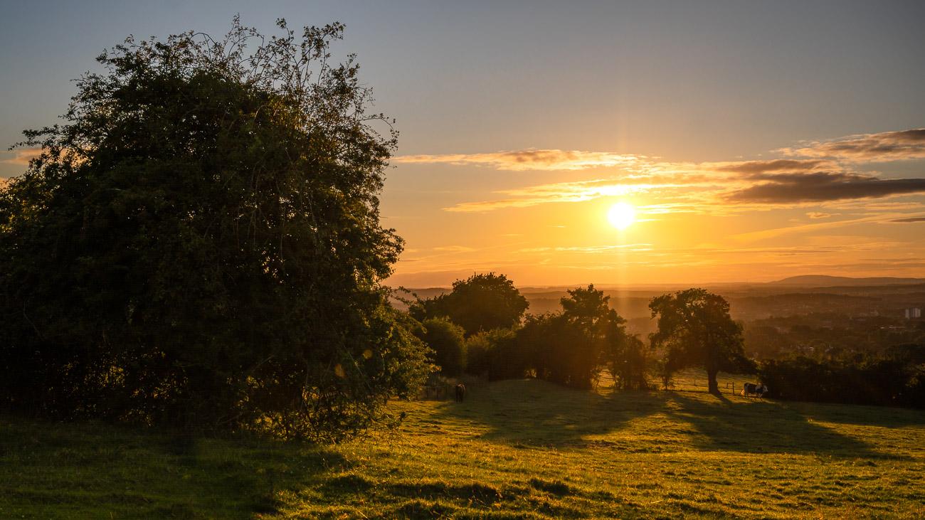 Wychbury Hill Sunset