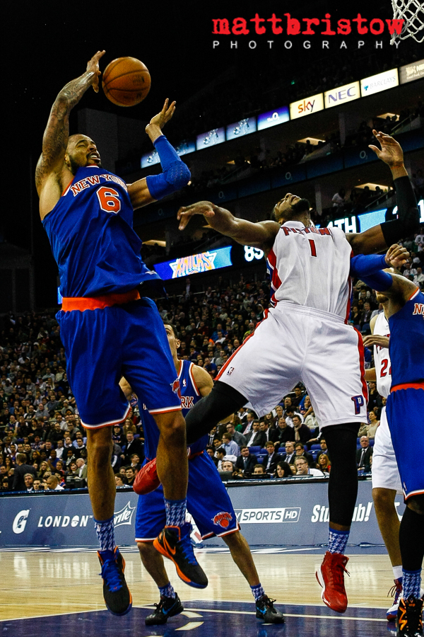 Detroit Pistons v New York Knicks, NBA, London 17 January 2013