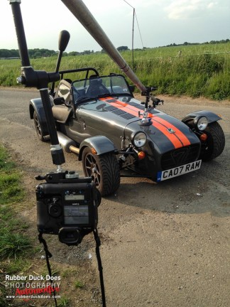 Car Rig Shot setup