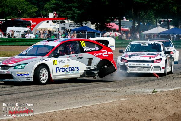 British Rallycross Championship Round 5 Maasmechelen, Belgium | Professional Photographer Matt Bristow