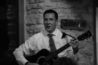 The best man sung his speach! - Neil and Ros Wedding, Kingscote Barn