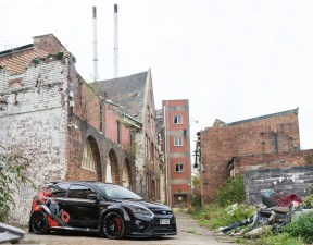 Car Feature - abandoned factory, Bristol