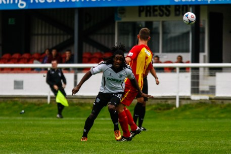 Dover Athletic v Dorchester Town in Skrill South League.