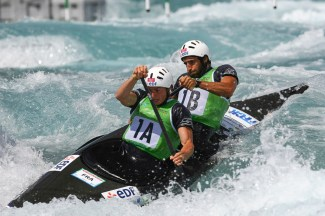 2014 ICF Canoe Slalom World Cup.