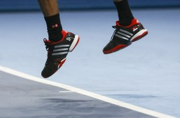 Novak Djokovic. To be world number 1 you need to have your own custom shoes!