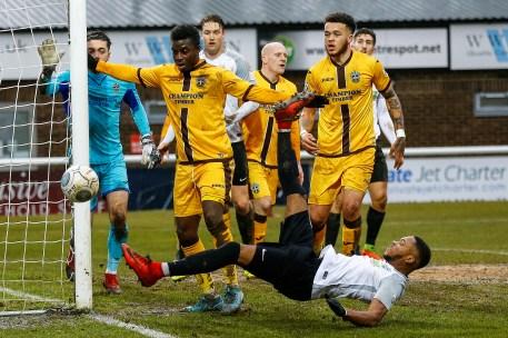 Dover Athletic v Sutton United