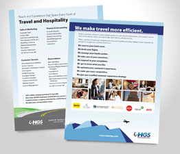 Travel and Hospitality Flyer