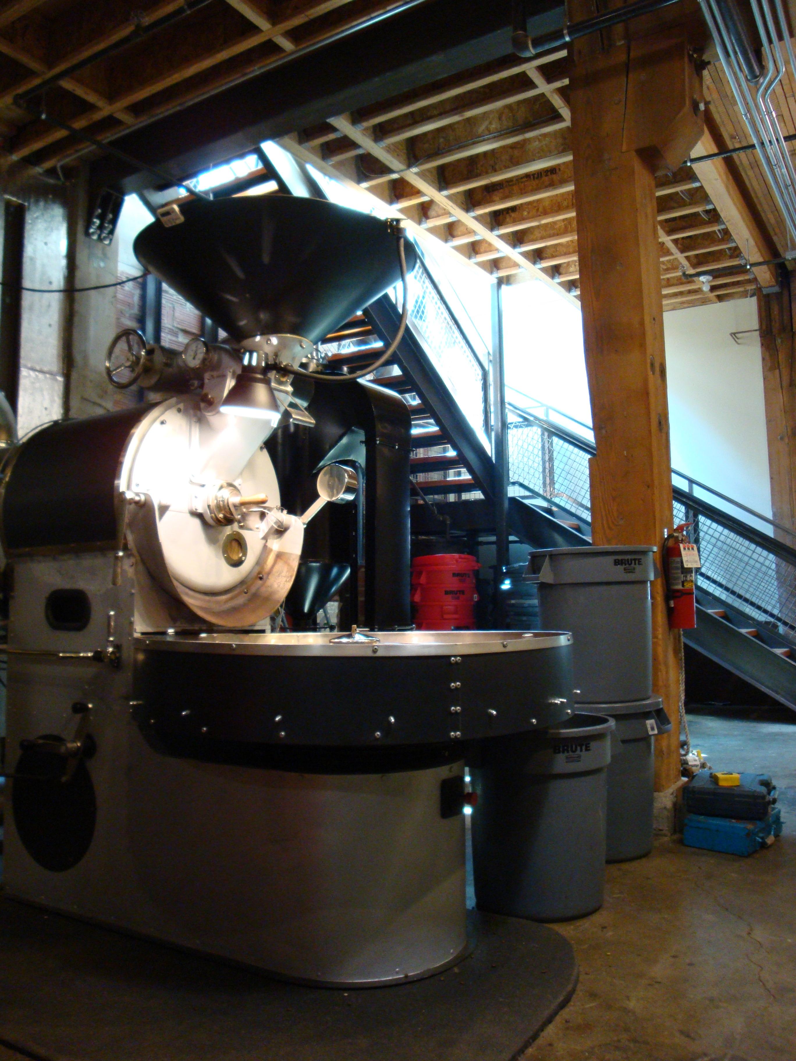 Stumptown's roasting machine
