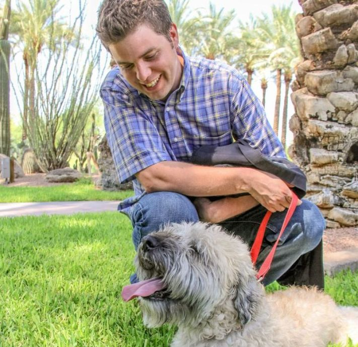 Matt Cavallo shares his personal experience with how his dog helps him cope with his multiple sclerosis every day