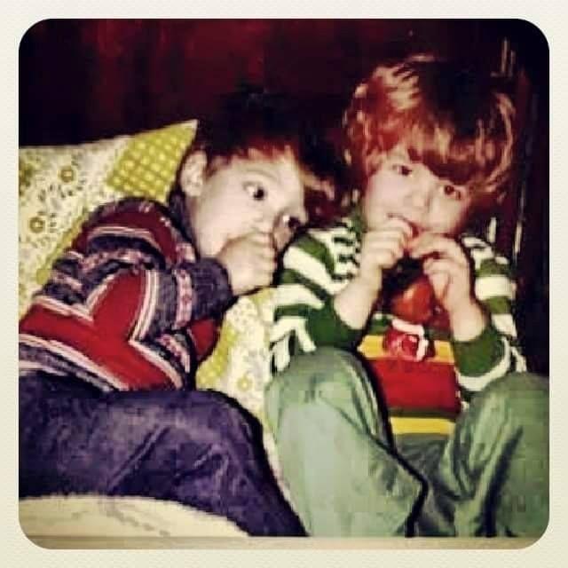 Matt and Mike Cavallo as young boys