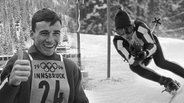 Jimmie Heuga Skiing at Innsbrook