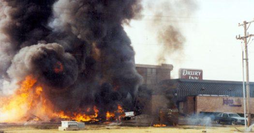 C-130 Plane Crash in Evansville Indiana Drury Inn