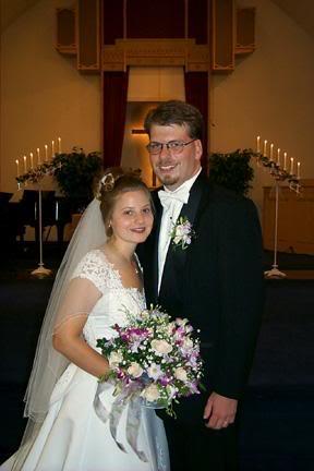 Our wedding portrait