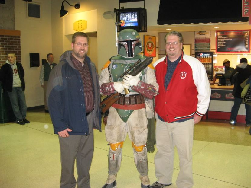 Me and Kevin with Boba Fett at Star Wars in Concert